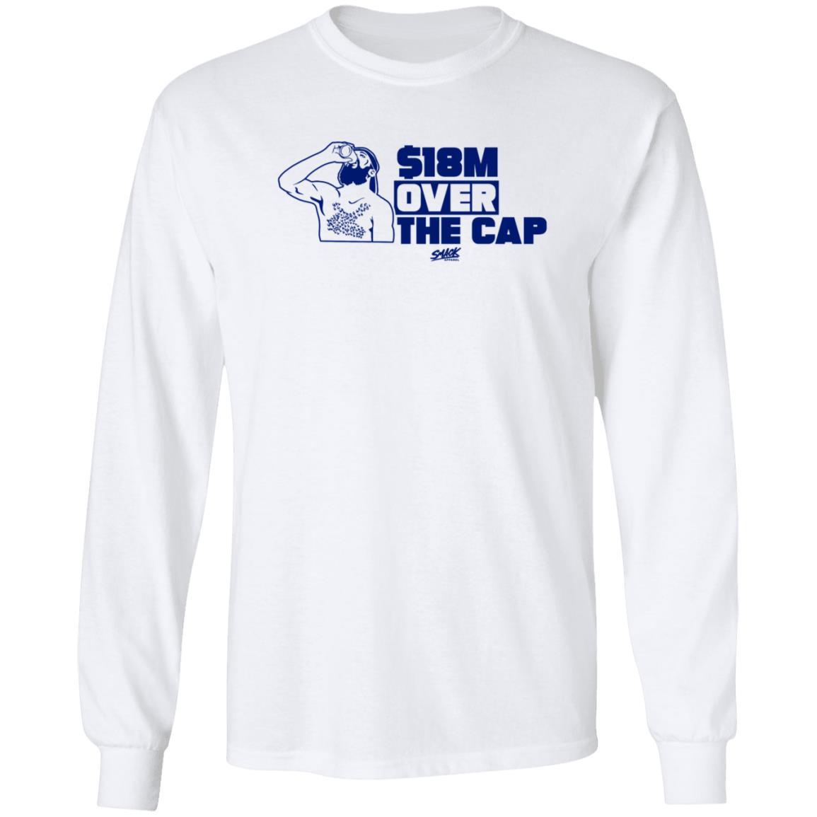 $18M (Million) Over the Cap Shirt Tampa Bay Hockey Apparel Tampa Hockey Championship Shirt