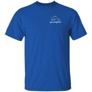 Gay Dolphin Myrtle Beach T-Shirt Jeff Heimbrock