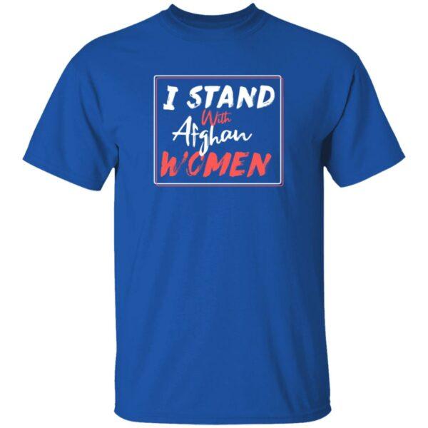 2 I Stand With Afghan Women T Shirt Hugh Jackman